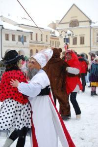 dancing at winter carnival