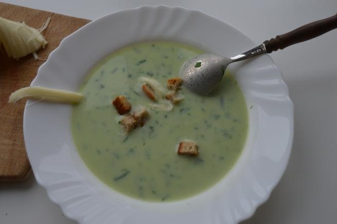 Bear Garlic Soup No.1