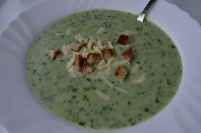 Bear Garlic Soup No.2