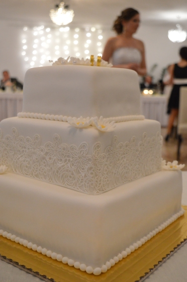 This needs no comment, does it? Just to mention that this sumptuous cake was tailor-made and delivered by the famed local baker. It wasn't only a feast for the eye though!