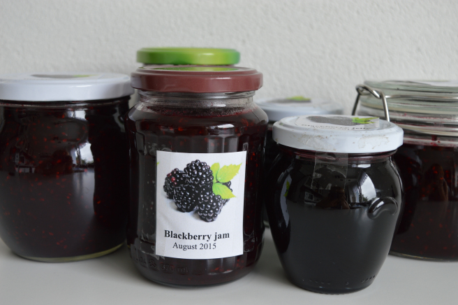 blackberry jam and jelly