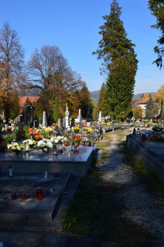 Cemetery on All Saints Day