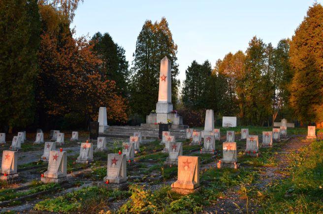 Fallen Soviet Soldiers cemetery