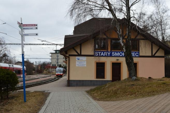 Stary Smokovec station