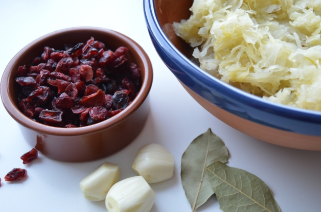 ingredients for sauerkraut soup
