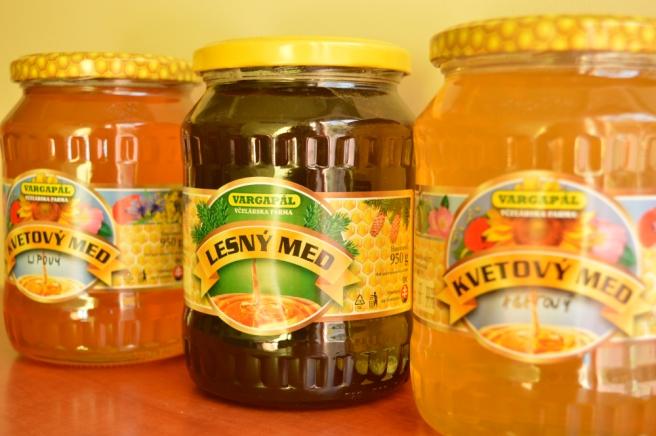 Slovak honey varieties