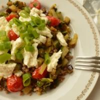 Buckwheat Groats with Sautéed Vegetables