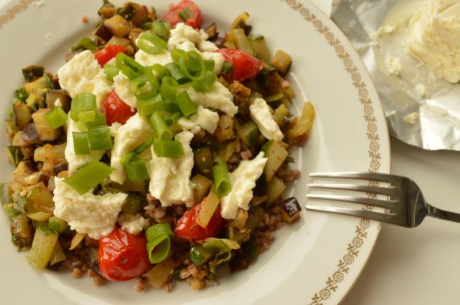buckwheat groats with sateed vegetables, profile photo
