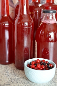 Home-made Redcurrant Syrup