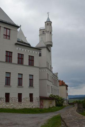 The elegant neoclassical lines of Levoča's Grammar School