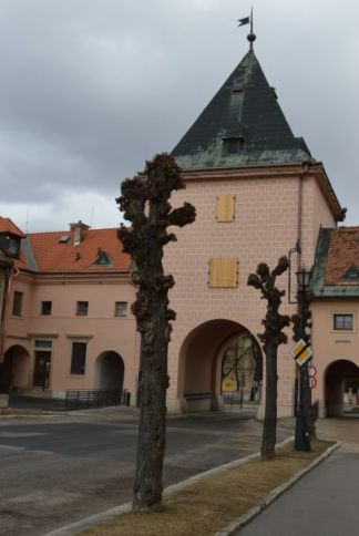 The Košice Gate - one of the three entrances to the Old Town of Levoča