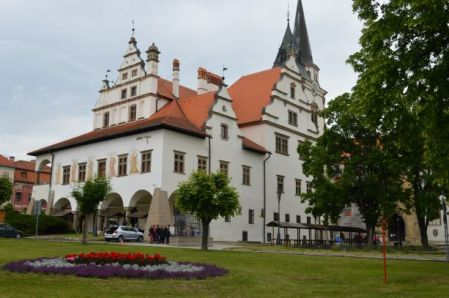Levoča's Renaissance style Town Hall is located in the middle of the town's main square.