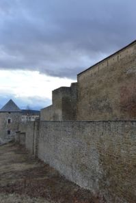 The medieval town walls have endured the test of time.