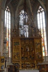 The Gothic altar of Master Paul is the largest in Europe.