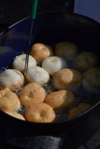 cooking shishki