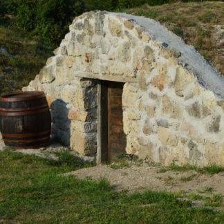 wine cellar in velka trna