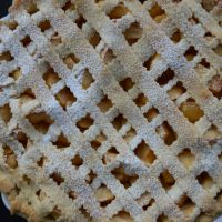 Criss-crossed Apple Pie