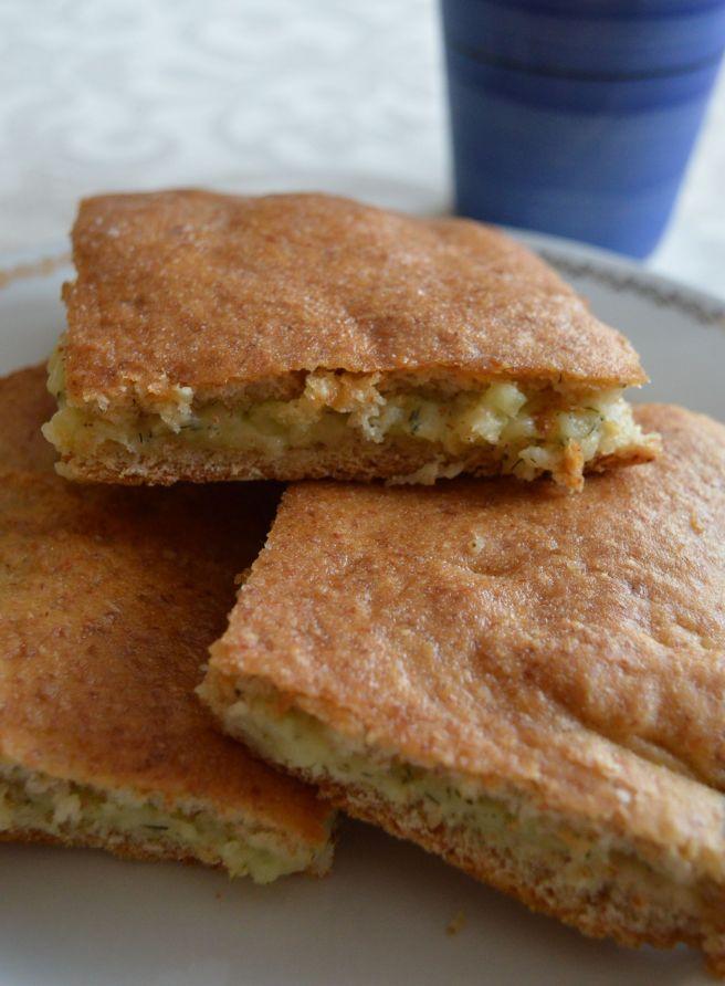 cheesy potato bread cake