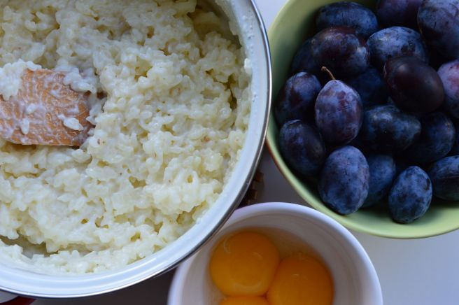 ingredients for rice souffle