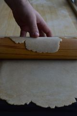 transferring honey dough 4
