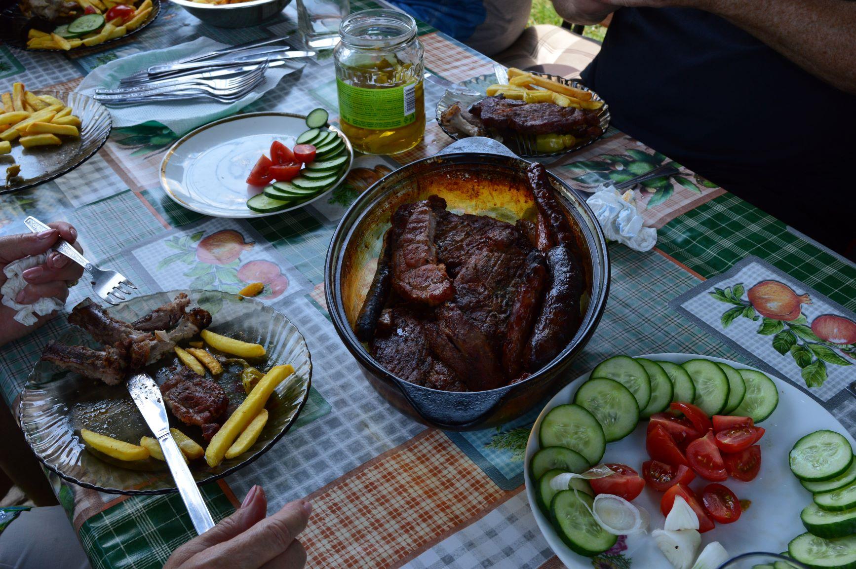 enjoying the meal 2