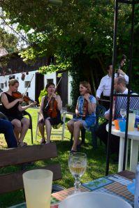 singing traditional folk songs