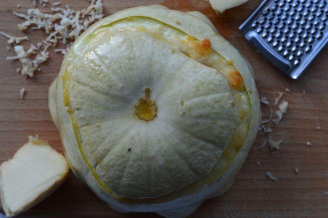 pattypan squash after baking